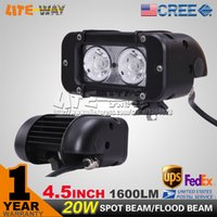 White military equipment - 4 INCH W CREE LED LIGHT BAR SPOT FLOOD BEAM FOR OFFROAD BAR TRACTOR TRUCK BOAT MILITARY EQUIPMENT LED BAR LIGHT