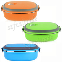 Wholesale Kids Bento Box Child Single Layer Stainless Steel Vacuum Lunch Box Keep Warm Food Container for School AIA005081