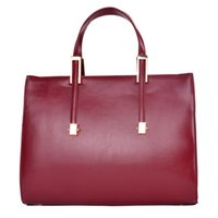 Wholesale 2014 new big brand cow leather bag women Wolesale Real leather handbag Classic oil max Women tote handbag