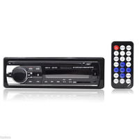 Wholesale 12V Car Audio Stereo FM Receiver Bluetooth MP3 Player Car Kit Handsfree Cell Phone CALLING wireless In Dash DIN USB SD MMC Port JSD
