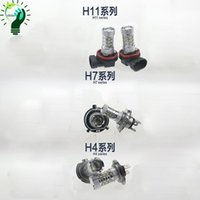Wholesale 2PCS Car H11 H4 H7 W LED Car Auto DRL Cree chip Fog Running Headlight Lamp Bulb DC12V White