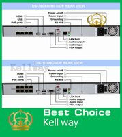 Wholesale Hikvision NVR DS NI E2 P PoE NVR Hikvision CH PoE Original english NVR CCTV Network Video Recorder