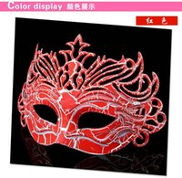 art supplies store - Cool Masquerade Masks For Men Fashion Halloween Decorations Pce A Plastic Arts And Crafts Cheap Party Supplies Store Prop