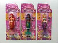 Wholesale The Magical Mermaid dolls Novelty Water Toy Goliath My Magical Mermaid Corissa Doll Activated Magical Turbot mermaid Magic Kids Toys