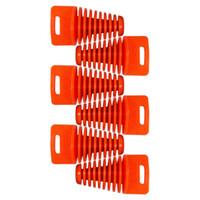 Wholesale 6pcs Big Orange ZXTD Exhaust Pipe Muffler Silencer Stroke Plug for Motorbike