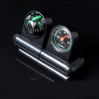 Wholesale Explosive Sales of Car Guide Ball with Thermometer Two in One Car Guide Ball And Thermometer