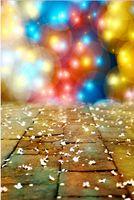 Precio de Vinil fondos de fotografía-200cm * 150cm (6.5ft * 5ft) Vinilo de fondo Colorido luz de neón negro carretera de ladrillo Fotografía Backdrops 5690