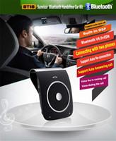 best bluetooth speakerphone for car - Universal Bluetooth Car Speakerphone HandsFree Sunvisor Bluetooth Speaker Car Kits with Microphone hours Talking Time best Sale LP