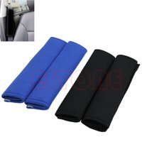 Wholesale 1 Pair Comfortable Car Safety Seat Belt Shoulder Pads Cover Cushion Harness Pad