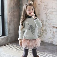 kids fashion - Girls Shirt Long Sleeve T Shirt Girls Tops Children T Shirts Winter T Shirt Girl Dress Kids Shirts Child Clothes Kids Clothing C16556