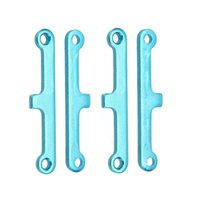 atv suspensions - 2 Set Upgrade Parts Blue Aluminum Suspension Arm Pad for HSP Car Buggy ATV Truck Truggy Cars