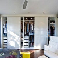 Wholesale sliding mirror wardrobe doors bedroom wooden wardrobe door designs detachable wardrobe