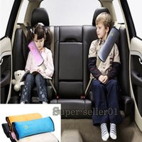 Wholesale 1Pcs Kids Safety Seat Belt Harness Shoulder Pad Cover Cushion Support car accessories covers styling Pillow