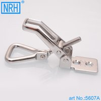 Wholesale NRH A stainless steel latch clamp pull action clamp Mechanical cabinet high quality adjustable toggle Clamp hasp