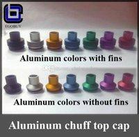 Wholesale Chuff enuff drip tips POM aluminum metal top cap caps tip for Patriot Vulcan Infinite CLT Stillare Tobh Atty v2 v1 v2 doge mephisto