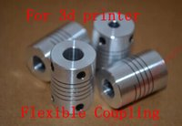 Wholesale D printer Stepper Motor Flexible Coupling Coupler Shaft Couplings mm mm mm Dropshipping