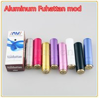Wholesale Manhattan Colorful mod Manhattan Vape Mod Aluminum Mechanical Mod use Battery vs Manhattan Apolo Telscope CMII Tesla Shotgun