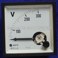 ac alternator - Generator voltmeter AC voltage meter alternator three phase voltmeter
