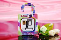 Wholesale Original RSIM R SIM R SIM R SIM PLUS nano cloud EXtreme MM Thin Unlock Card For Iphone S C S IOS x IOS x DHL Free