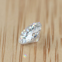 Wholesale Charles Colvard Forever One Carat CT Pure Clear Round Brilliant Cut Loose Lab Grown Moissanite Diamond Test Positive