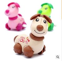 animal shake - Wind up dogs dog walking with Shaking the head and wag