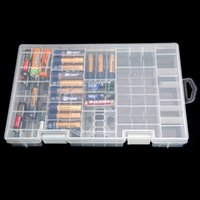 aa collection - Modern Design Best Price AAA AA C D V Battery Holder Hard Plastic Case Storage Box Rack Transparent Fit For Collection