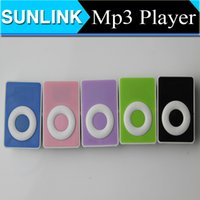 cheap micro sd cards - Cheap Colorful Mp3 Player Mini Digital Music Player Support Micro SD Card With Retail Box Earphone USB Cable New
