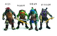 Wholesale TMNT Teenage Mutant Ninja Turtles PVC Action Figure Collection Model Toys Classic Toys Christmas Gift set set