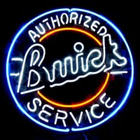 auto neon signs - 17 quot x14 quot Buick Chevy GM US Auto design Real Glass Neon Light Signs Bar Pub Restaurant Billiards Shops Display Signboards