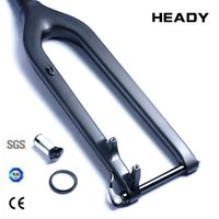 Wholesale Carbon fork mtb er wheel tire size disc brake MTB bike fork carbon fiber hard fork