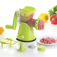 Wholesale Anself Detachable Wring Mince Machine Multifunctional Manual Meat Grinder Practical Pasta Maker Kitchen Utensils and Gadgets