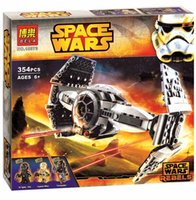 advance gift - New Bela StarWars The Force Awakens TIE Advanced Prototype Building Blocks Toys Gifts Minifigures Compatible With Legos