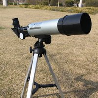 Wholesale 12pcs Mono Spotting Scope Monocular Astronomical Telescope With Tripods X50mm Stargazing Necessity Refractive OS606