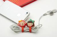 Wholesale Fastener Cord Holder Bundle Of Thread Headphone Earbud Cord Winder Holder Button Bobbin Winder