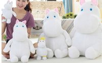 Wholesale hippo plush doll moomin vellay toy cm size stuffed doll animal toy