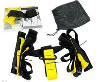 Wholesale Training Fitness Equipment Spring Exerciser Hanging Belt Resistance Belt Set