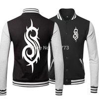 band uniforms - Fall The latest baseball uniform pop star Slipknot rock and roll band fashionable collar jackets Rock n roll team sportswear