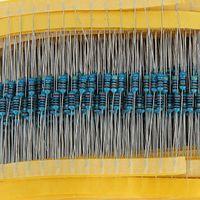 600 piezas de 1 / 4W 1% <b>Metal Film Resistor</b> Kit 30 Valores fin Surtido / paquete / Mix / Selección $ 18Nadie pista