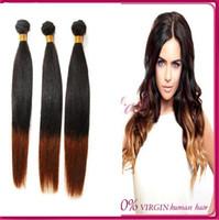 Cheap Brazilian Hair Brazilian Hair Straight Best Ombre Color Straight Brazilian Ombre Hair