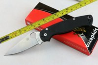 Wholesale NEW Spiderco G10 Handle CPM S30V Blade Folding Pocket Knife C95