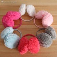 Wholesale Simple Cute Candy Color Plush Earmuffs Ear Warm Cover Fashion Ear Cups
