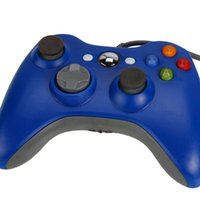 xbox360 wireless controller - Wired Controller for xbox360 Blue