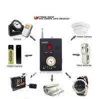 Wholesale CX007 Multi Detector Full Range Wireless Laser Signal Finder Lens Bug Hidden Camera GSM GPS WiFi Bug Spy Detector