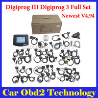 Wholesale 2016 Newest V4 Professional Digiprog III Digiprog Odometer Programmer With Full Software digiprog3 full set by DHL