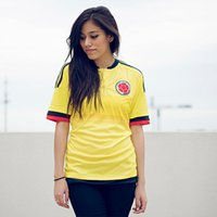 colombia - HOLIDAY Women Colombia GUARIN JAMES FALCAO Jersey Free Customized Colombia Soccer Women jeseys with High Quality