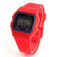 fashion square - pc F91W Classic Digital Sports Watch Alarm Ultra thin Fashion LED Watch