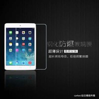 Wholesale Apple Tablet IPAD2 AIR MINI proof glass protection film HD steel foil