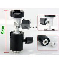 aluminum umbrella stand - C Type degrees Swivel Flash Shoe Umbrella Holder Light Stand Tripod Bracket Adapter