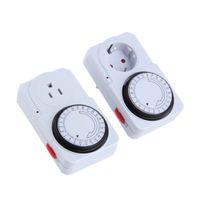 Wholesale New US EU Plug Hour Programmable Mechanical Electrical Plug Program Timer Power Switch Energy Saver