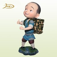 Wholesale Custom Resin Figure From Movie Hero Is Back Collectible Figurine Jiang Liuer Total Height cm